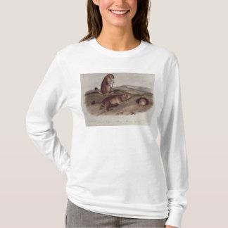 「North AmericaのQuadrupedsからのプレーリードッグ Tシャツ