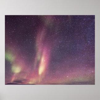 Northern Lightsのカスタムはプロジェクトの家を個人化します ポスター