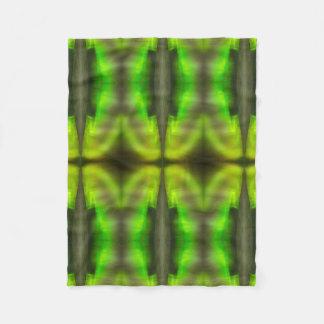 Northern Lightsの万華鏡のように千変万化するパターンのフリースのベビーブランケット フリースブランケット