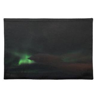Northern Lightsの汚れ ランチョンマット