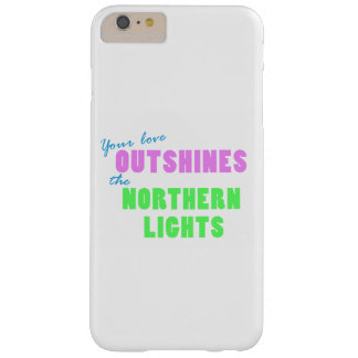 Northern Lightsの電話箱 Barely There iPhone 6 Plus ケース