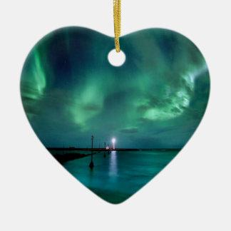 Northern Lightsアイスランド セラミックオーナメント