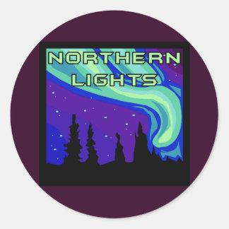 Northern Lights ラウンドシール