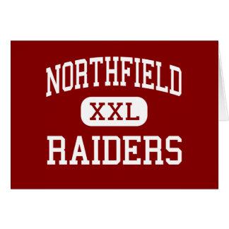 Northfield -侵入者-高Northfieldミネソタ グリーティングカード