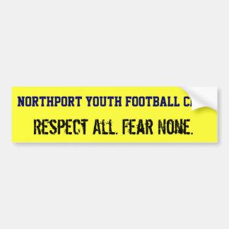 Northportの青年フットボールクラブバンパーステッカー バンパーステッカー