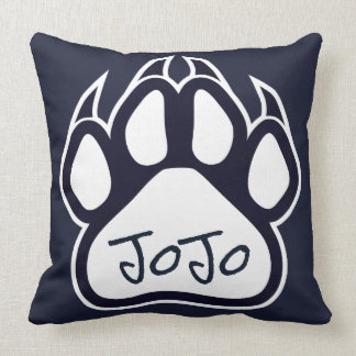 Northshore High School Panthers Pillow Navy White クッション