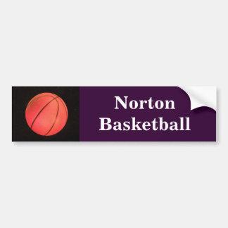 Nortonのバスケットボールのバンパーステッカー バンパーステッカー