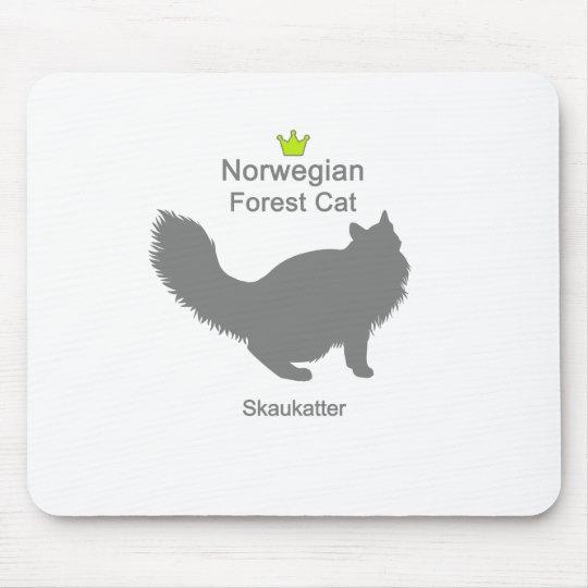 Norwegian Forest Cat g5 マウスパッド
