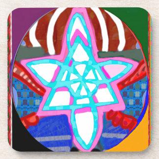 NOSA Karunaの霊気の写実的な治療の記号 コースター