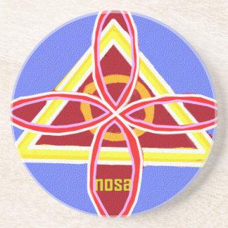 NOSA Karunaの霊気の治療の記号のグラフィックアート コースター