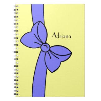 notebook_#171大きい結ばれた弓 ノートブック