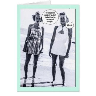 Notecard-thereはよい女の子ではないです ノートカード