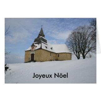 Notre貴婦人de Piétatチャペル、Joyeux Nöel カード