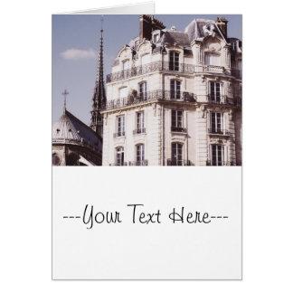 Notre Dameおよびパリの建築 カード