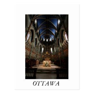 Notre Dameのカテドラルのバシリカ会堂 ポストカード