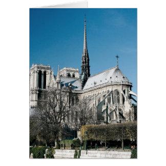 Notre Dameのカテドラル カード