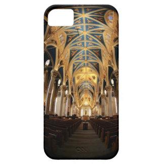 Notre Dameのバシリカ会堂のiPhone 5の場合 iPhone SE/5/5s ケース