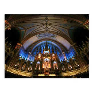 Notre Dameのバシリカ会堂 ポストカード