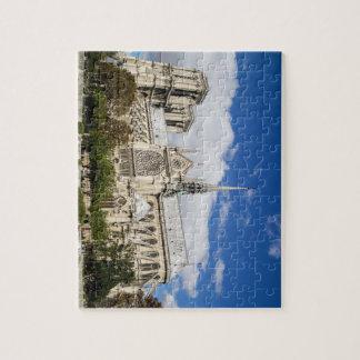 Notre Dameのパズル ジグソーパズル