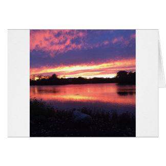 Notre Dameの日没 カード