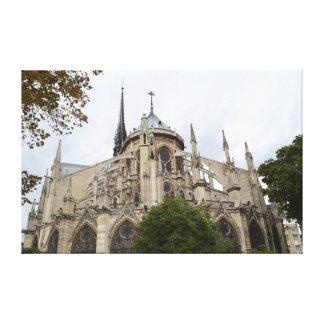 Notre Dameの飛び梁 キャンバスプリント