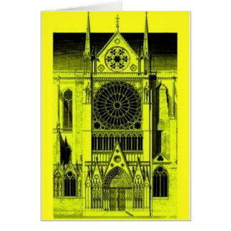 Notre Dameの黄色 カード