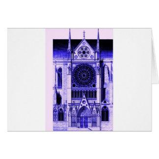 Notre DameのLtの青 カード