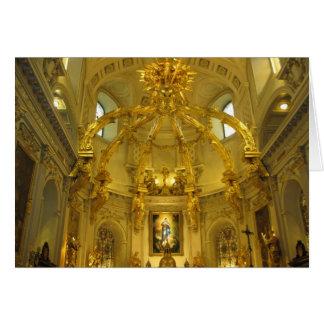 Notre Dameケベック、ケベックのクリスマスカード カード