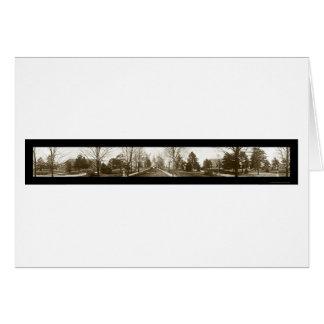 Notre Dame大学写真1914年 カード
