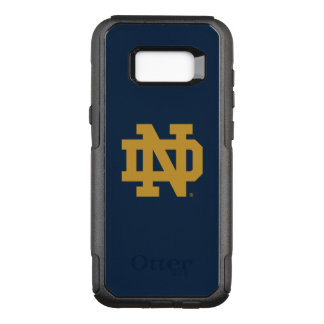 Notre Dame |の紋章のロゴ オッターボックスコミューターSamsung Galaxy S8+ ケース