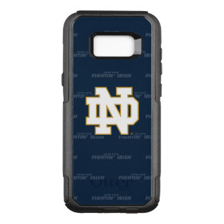 Notre Dame |の繰り返すパターン オッターボックスコミューターSamsung Galaxy S8+ ケース