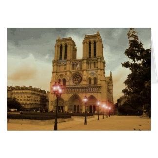 Notre Dame カード
