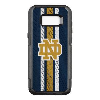 Notre Dame |ジャージーパターン オッターボックスコミューターSamsung Galaxy S8+ ケース