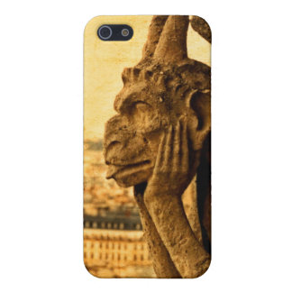 Notre Dame、パリのMedieval Le Stryge Gargoyle iPhone 5 Case