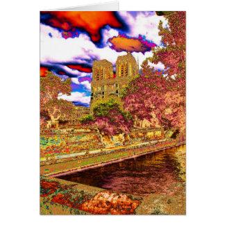 Notre Dame、パリ カード