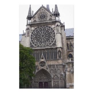 Notre Dame、パリ、フランス 便箋