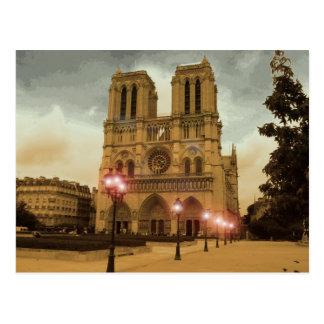 Notre Dame ポストカード