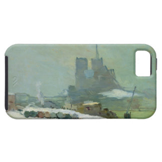 Notre Dame 1894年の眺め(キャンバスの油) iPhone SE/5/5s ケース