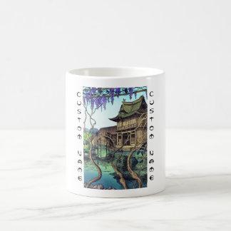 Nouet Noel Kameidoの向こうずねのhangaの日本人の景色 コーヒーマグカップ