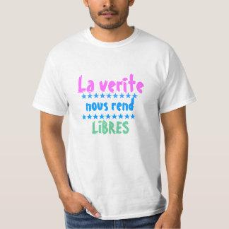 nous Laのveriteはlibresを引き裂きます Tシャツ