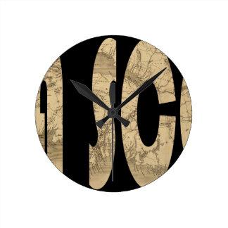 novascotia1834 ラウンド壁時計