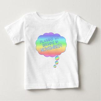 NOVEMBER.pngの私の脱出の計画 ベビーTシャツ