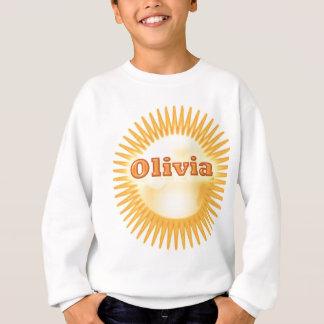 NOVINOのエレガントな文字 スウェットシャツ