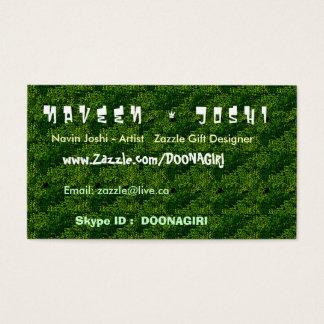 NOVINOの密な緑の庭 名刺