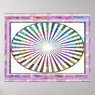 NOVINO JUL2012のリズムの曼荼羅シリーズ ポスター