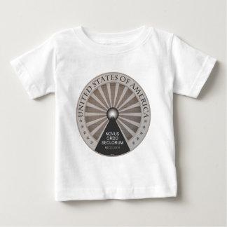 Novus Ordo Seclorum ベビーTシャツ