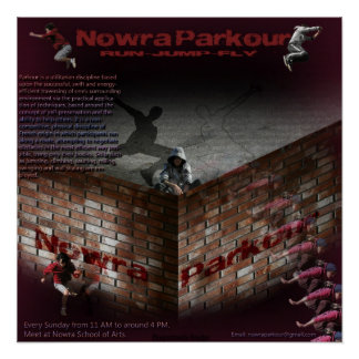Nowra Parkour ポスター