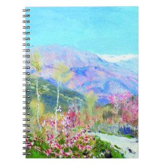Nowruzムバラク。 ペルシャの新年のギフトのノート ノートブック