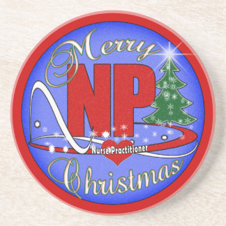 NPのクリスマスのコースターのナースの従業者 コースター