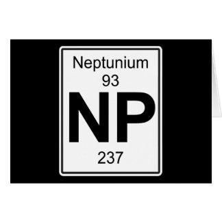 Np -ネプツニウム カード